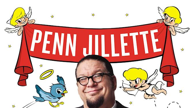 """This book cover image released by Blue Rider Press shows, """"Every Day Is an Atheist Holiday!,"""" by Penn Jillette. (AP Photo/Blue Rider Press)"""