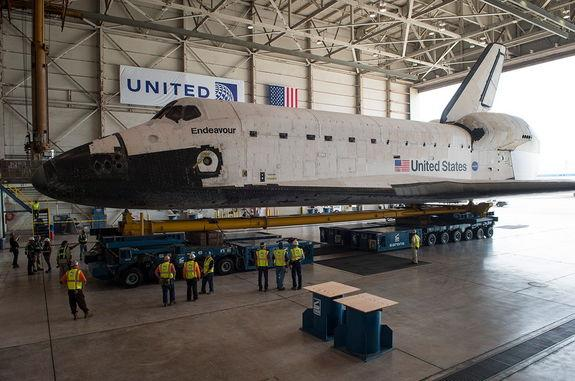 How to See Shuttle Endeavour Roll Through L.A. This Week