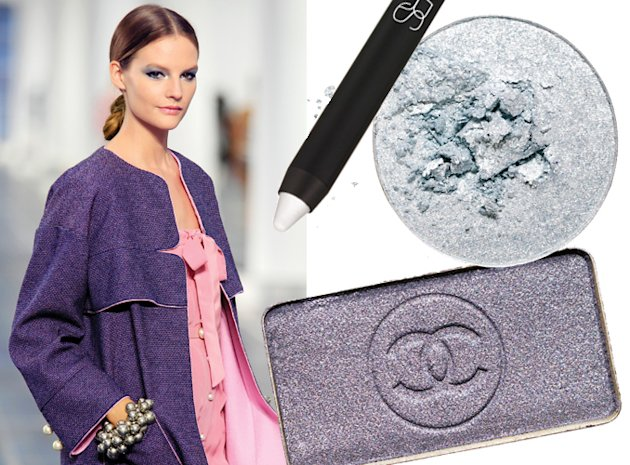 Chanel Metallic Makeup