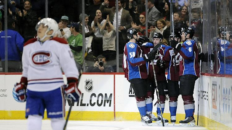 Landeskog leads Avalanche over Canadiens 4-1