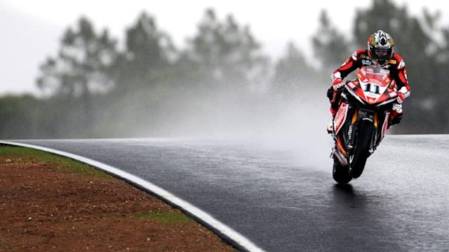 The one-bike rule has meant Superbike races are often stopped due to rain