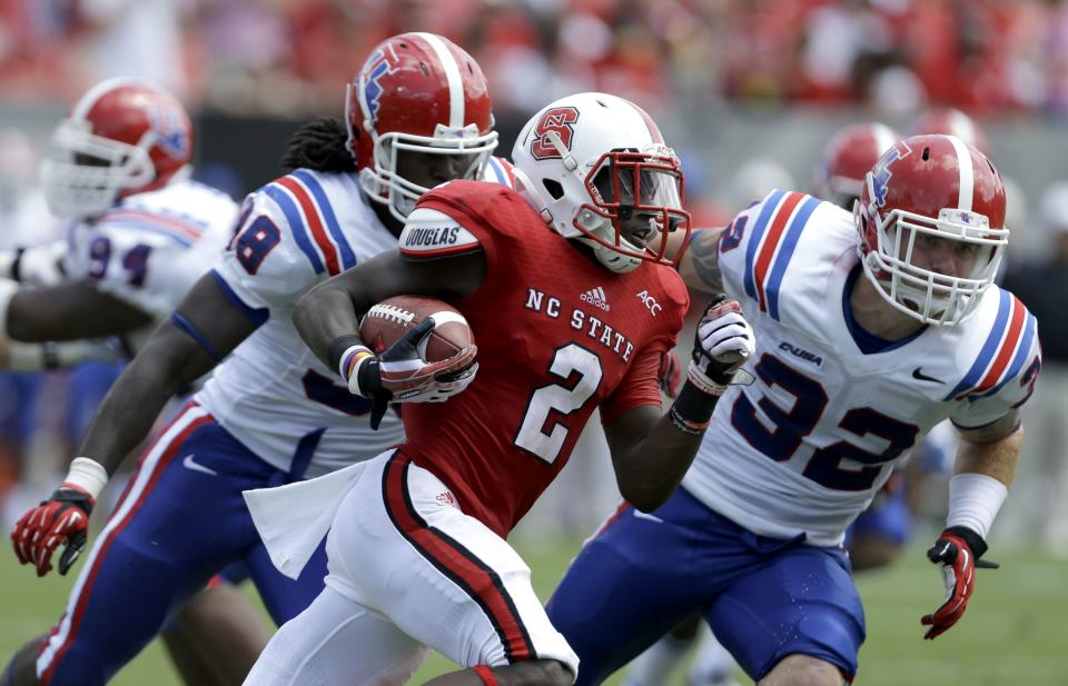 NC State tops La.Tech 40-14 in Doeren's debut