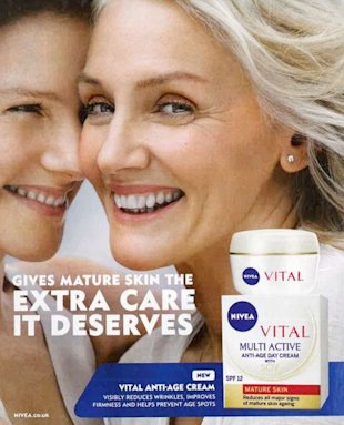 Cindy Joseph for Nivea (Beiersdorf UK)