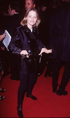 Jodie Foster at the Hollywood premiere of New Line's Boogie Nights