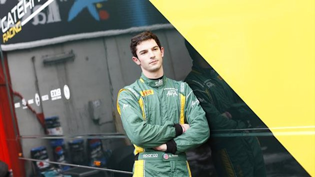 Alexander Rossi of Caterham Racing
