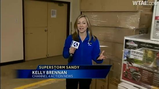 Red Cross gets ready for Hurricane Sandy response