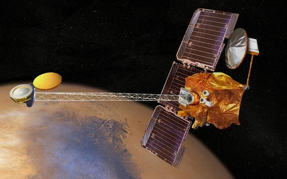 Mars Odyssey Spacecraft Goes Into Standby After Malfunction