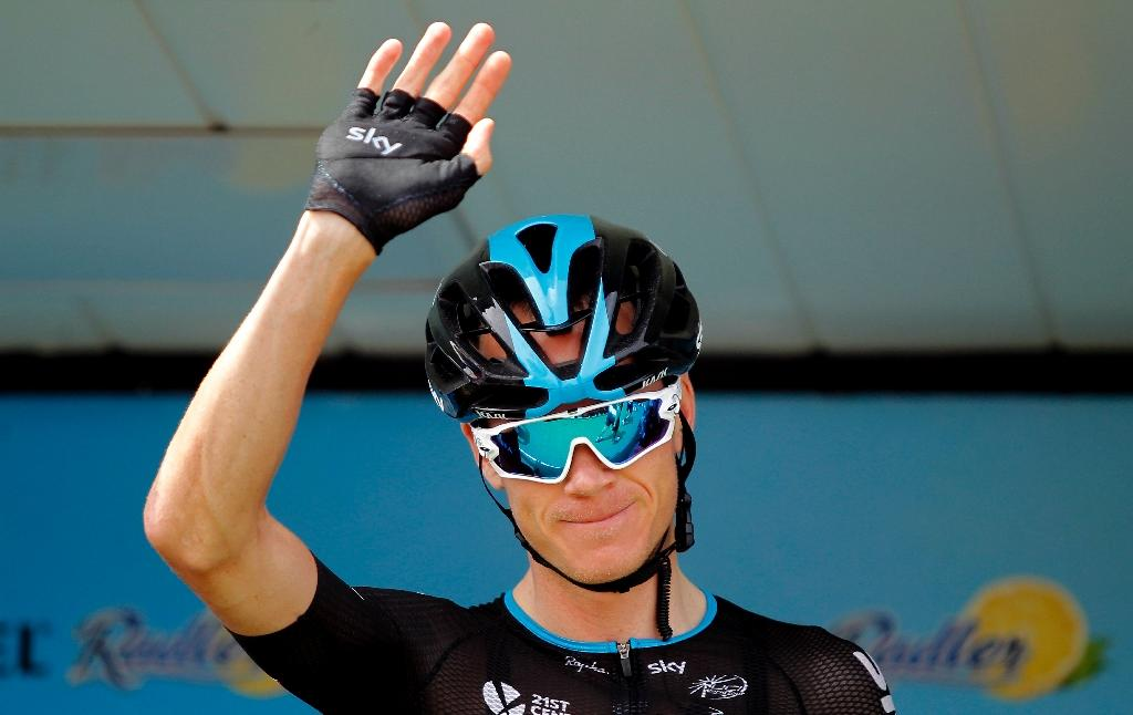 Foot fracture forces Froome out of Vuelta