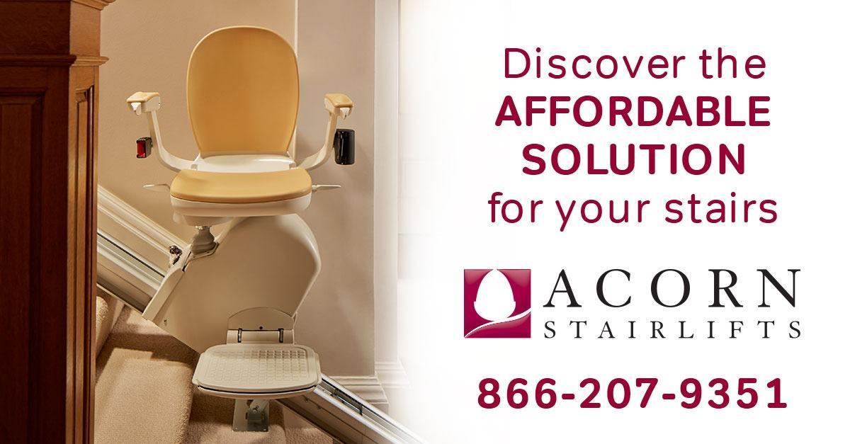 Retain Your Independence with an Acorn Stairlift