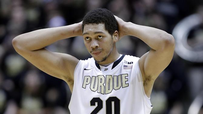 Purdue suspends Hammons for violating team rules