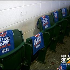 Islanders Fans Trying To Take History, Swipe Seats From Nassau Coliseum