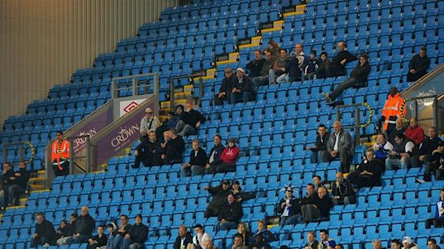 Empty seats, Ewood Park