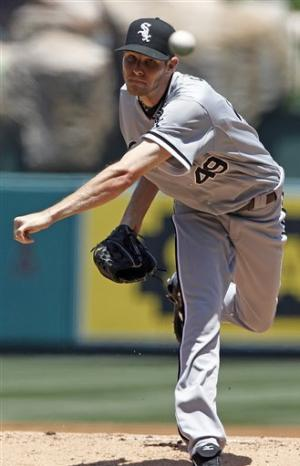 Sale, Viciedo lead White Sox over Angels 6-1