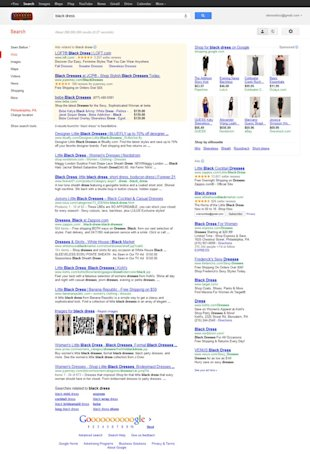 Do You Deserve A First Page Ranking? image Google Black Dress12