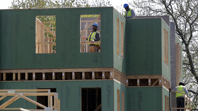 US new home sales up 2.3 percent in April