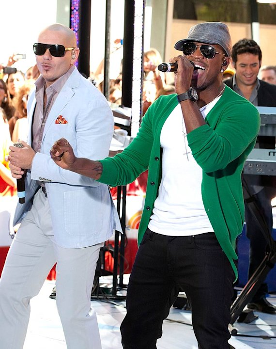 Pittbull Neyo Today Show