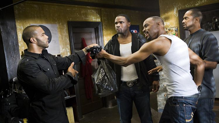 Omari Hardwick Darius McCrary Wood Harris Mike Epps Next Day Air Production Stills Summit 2009