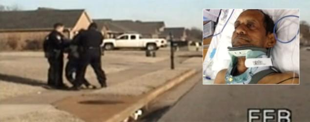 Former Alabama cop charged in brutal attack