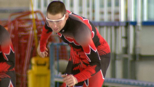 Steven Graham, who has won several medals in short track speed skating during the Special Olympics, lived his dream of skating at the Olympic Oval on Monday.