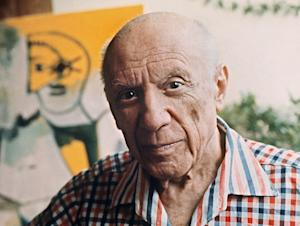 Spanish painter Pablo Picasso died in 1973