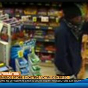 Convenience store shooting victim identified