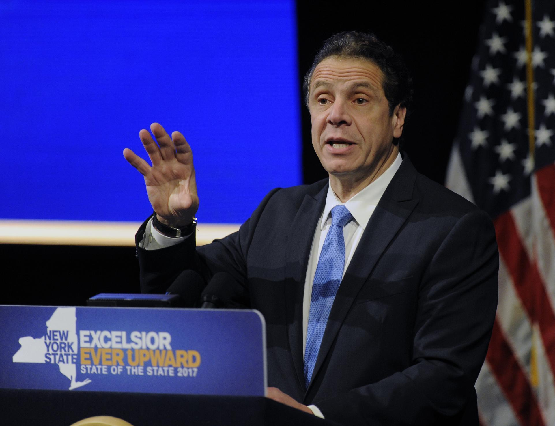 Trumping Trump? Democrat Cuomo courts 'middle-class anger'
