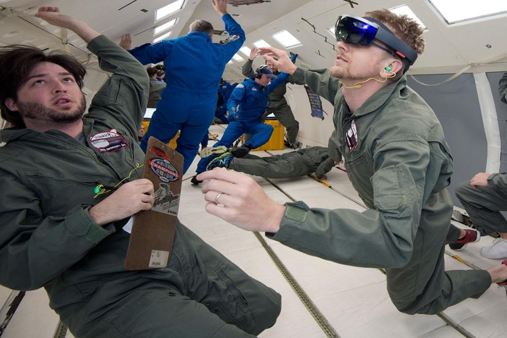 Microsoft is sending its HoloLens to the ISS so astronauts can use augmented reality