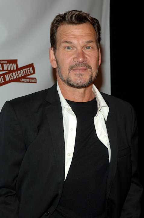 "Patrick Swayze at the opening Night of ""A Moon for the Misbegotten"" After Party in New York City, NY."