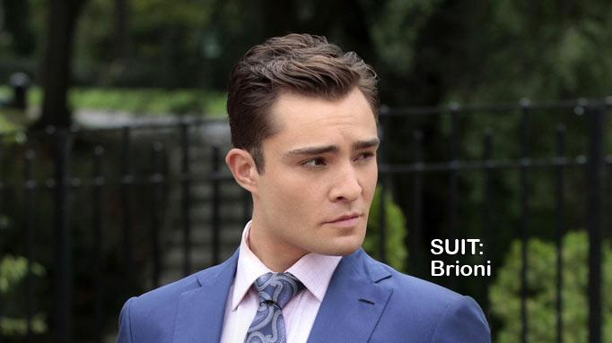 "Ed Westwick as Chuck Bass in the Season 5 episode ""The Fasting and the Furious."" Gossip Girl"