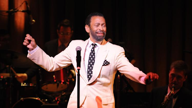 "In this May 2011 photo provided by the Apollo Theater, director/choreographer Maurice Hines is seen on stage that the Apollo Theater in New York. Hines will host three performances of ""Apollo Club Harlem,"" in February 2013. Hines directed and choreographed the production. (AP Photo/The Apollo Theater, Shahar Azran)"