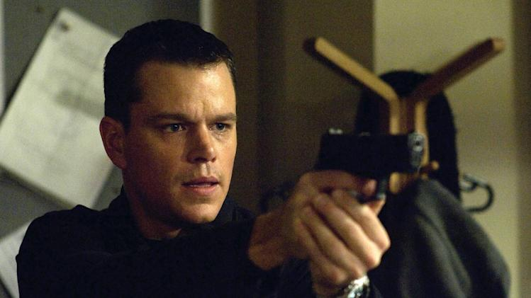 "** FILE ** This image originally released by Universal Pictures shows Matt Damon as the character Jason Bourne in ""The Bourne Ultimatum."" (AP Photo/Universal Pictures, Jasin Boland, file)"