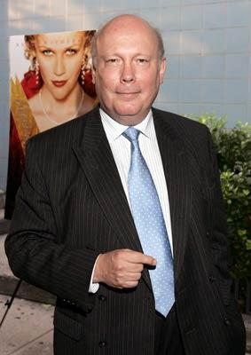 Screenwriter Julian Fellowes at the New York premiere of Focus Features' Vanity Fair