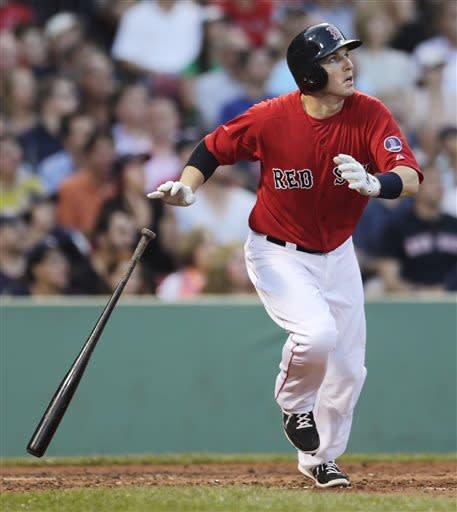 Gomes puts Boston ahead in 7-5 win over Toronto