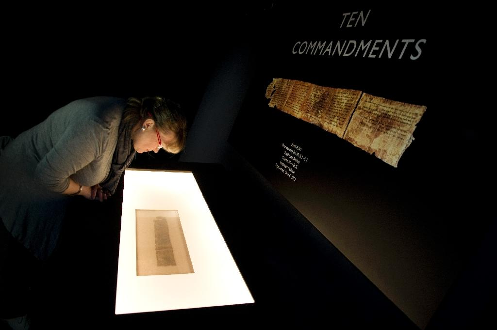 World's oldest example of 10 Commandments on show in Israel