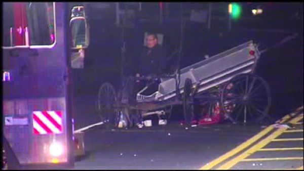 Pa. crash involving SUV, buggy kills 1, injures 1