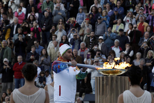 Greece Olympics Sochi Flame
