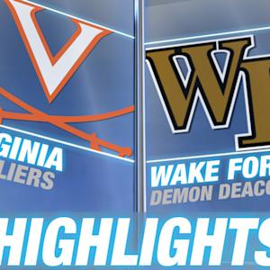 Virginia vs Wake Forest | 2014-15 ACC Men's Basketball Highlights