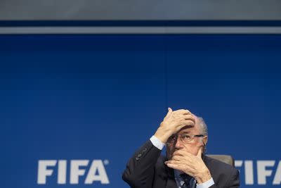 Vox Sentences: You won't have Sepp Blatter to kick around anymore