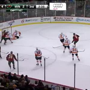 Ray Emery Save on Mikko Koivu (17:23/3rd)
