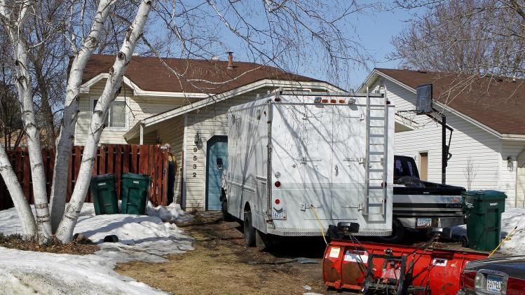 The house in Blaine, Minn., where one teen died and 10 were injured after taking a synthetic drug is shown Friday March 18, 2011.  Most of the people who fell ill in a mass drug overdose that left one person dead have been released from hospitals, authorities said Friday. Ten people were hospitalized after taking a rave-party drug called 2C-E on Wednesday at a spring break gathering in suburban Minneapolis.  (AP Photo/Andy King)