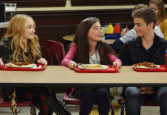 Rowan Blanchard, Sabrina Carpenter, Peyton Meyer | Photo Credits: Eric McCandless/Disney Channel