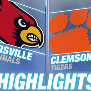 Louisville vs Clemson - May 4 | 2015 ACC Baseball Highlights