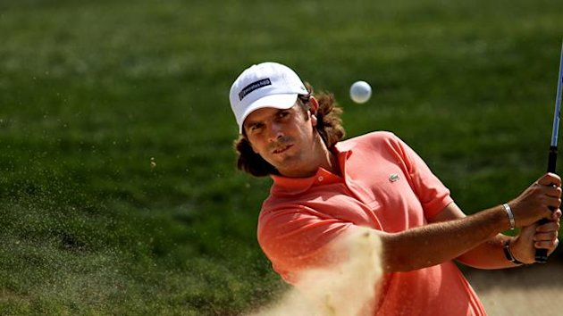 South African golfer Thomas Aiken
