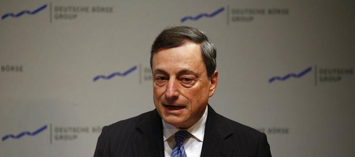 ECB's Draghi says better to act too early than too late on low inflation