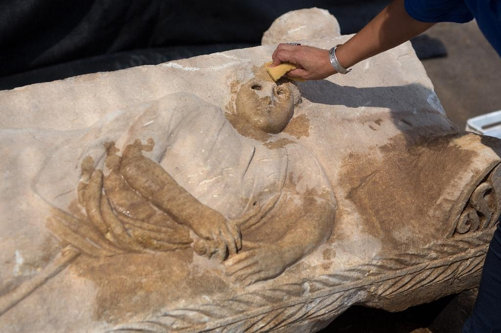 Israel recovers ancient sarcophagus hidden by contractors