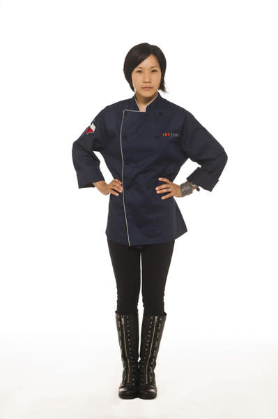 "Beverly Kim competes in Season 9 of ""Top Chef."""