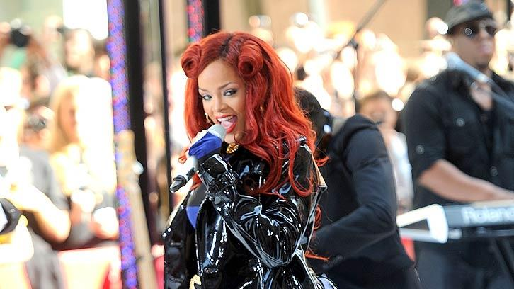 Rihanna Today Show Performance