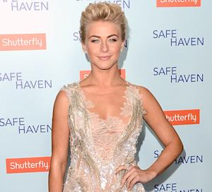 Julianne Hough Walked the Red Carpet With a 102-Degree Fever!