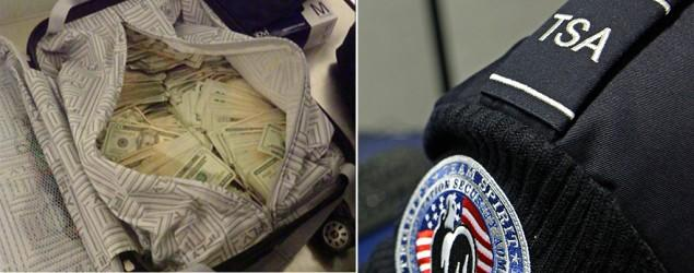 TSA worker slammed for tweeting carry-on cash