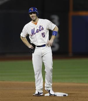 Wright sets Mets hits record in 6-0 win over Bucs